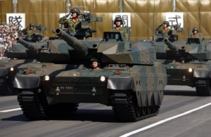 tanques japoneses